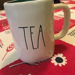 Rae Dunn TEA mug cup coffee Cocoa